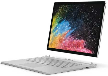 Microsoft-Surface-Book-2-(Intel-Core-i7,-16GB-RAM,-1TB)-15-inches Best Laptop for Architecture students
