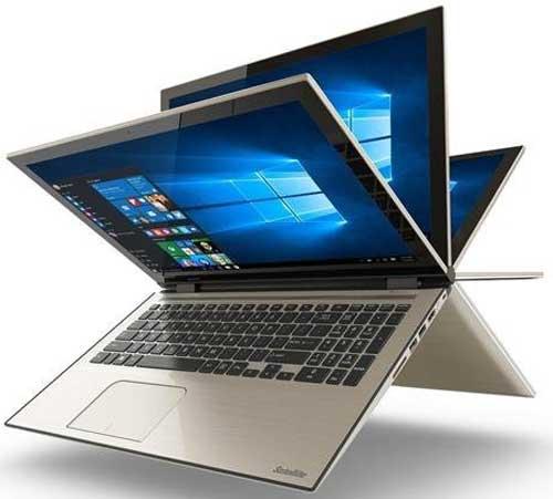 Toshiba-Satellite-Fusion-15-L55W-C5258-Signature-Edition-2-in-1-PC---15-6-Full-HD-Touchscreen,-Intel-i5-5200U,-8GB-RAM,-1TB-HDD,-Windows-10---Satin-Gold