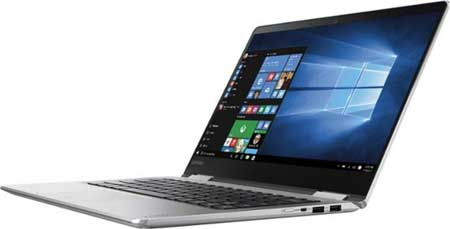 Lenovo Yoga Laptops with 14 inches as the display size
