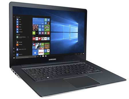 Samsung Laptop with a screen size of 15 inches