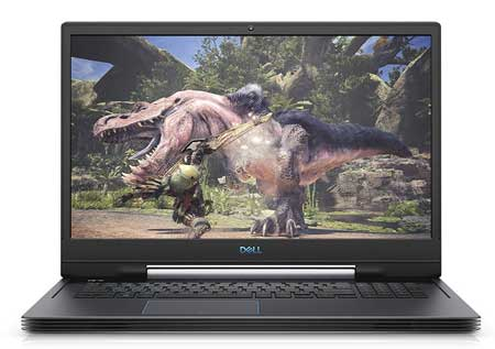 Dell Laptop with 17 inch display for gaming