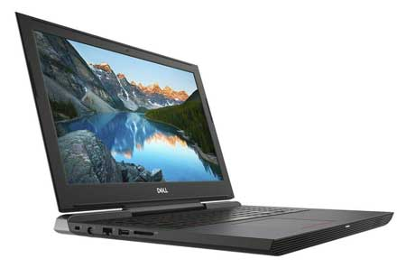 Dell gaming laptop with Nvidia Graphics card
