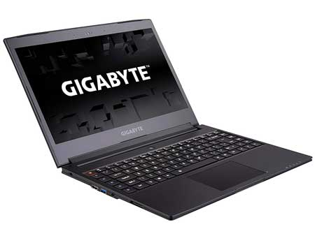 Best Gigabyte Performance Laptop with Intel Core i7 Processor