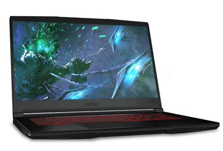 Powerful gaming laptop