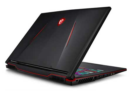 MSI laptop with 9th Gen Processor