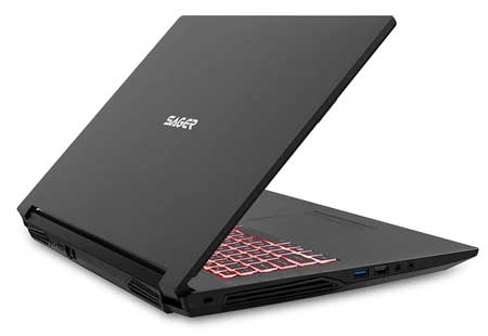 Sager Laptop with Intel Core i7 Processor