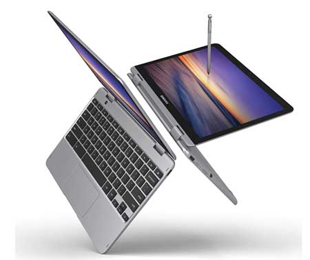 Slim Samsung Laptop with 360 hinge