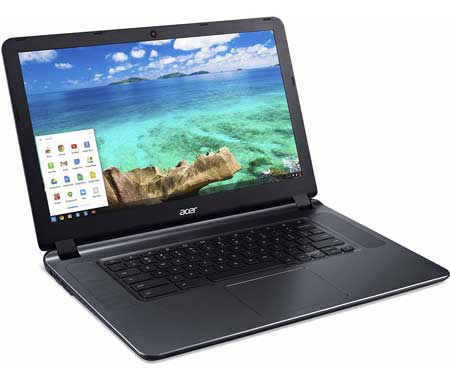 Portable Acer Chromebook for school and work