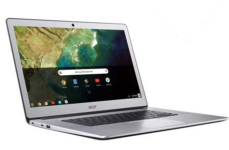 15 inch Acer chromebook with backlight keyboard