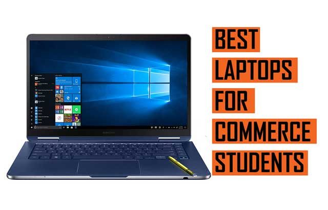 Top Best Laptop recommendation for commerce students