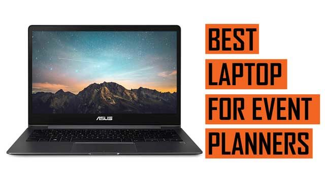 Top Best Laptop recommendations for Event Planners