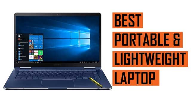 Latest Top Lightweight and Portable Laptop recommendation