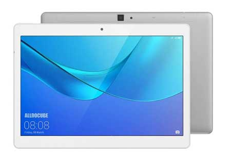 ALLDOCUBE-M5X-Tablet,-10-inch-HD-Dispaly,4GB-RAM,64GB-ROM,Android-8,WiFi、Bluetooth,2MP-5MP-Camera,White