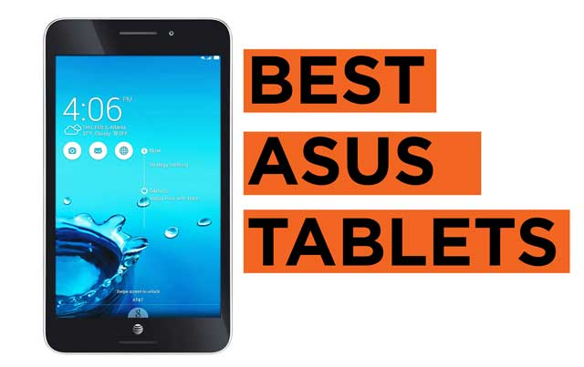 Latest Top Asus Tablets Price List