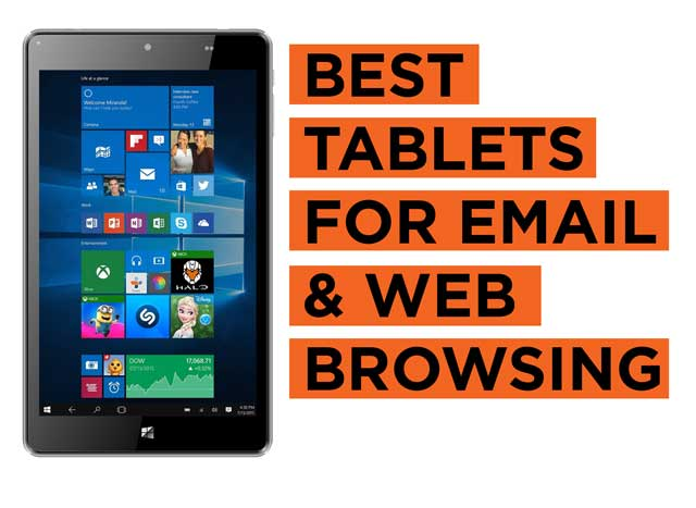 Latest Top Tablets Recommendation for Web Browsing and Email