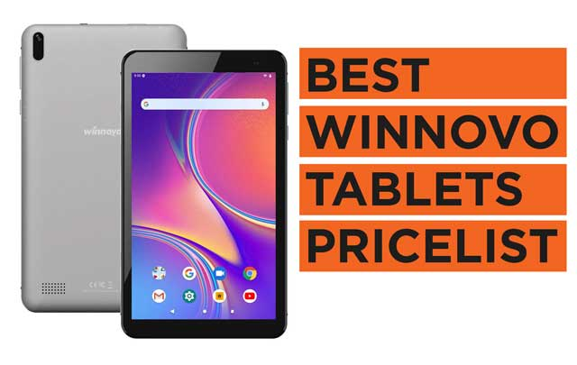 Latest Top Winnovo Tablets you can buy