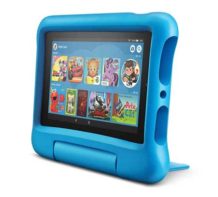 Fire-7-Kids-Edition-Tablet,-7-inches-Display,-16-GB,-Blue-Kid-Proof-Case
