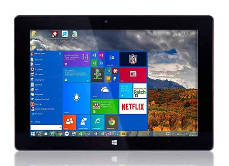 Fusion5-Ultra-Slim-Windows-Tablet-PC--(Full-Size,-Intel-Quad-core,-5MP-and-2MP-Dual-Cameras,-HDMI,-Bluetooth,-Windows-10-Home-Tablet-Computer)-(64GB)