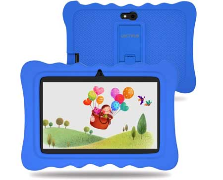 Lectrus-7-inch-Kids-Tablet-with-Camera,-2GB-RAM-16GB-ROM,-Android-9-Tablets,-WiFi-Android-Learning-Tablet,-IPS-Safety-Eye-Protection-Screen,-Parents-Control-Mode,-Kid-Proof-Case