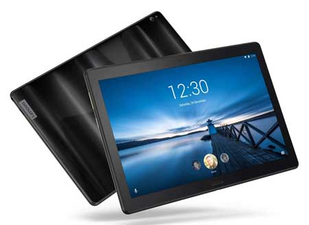 Lenovo-Smart-Tab-P10-10-inches-Android-Tablet,-Alexa-Enabled-Smart-Device-with-Fingerprint-Sensor-and-Smart-Dock-Featuring-4-Dolby-Atmos-Speakers---64GB-Storage-with-Alexa-Enabled