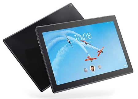 Lenovo-Tab-4-Plus-(WiFi+4G-LTE)-10-inch-Android-Tablet,-64-bit-Octa-Core-Snapdragon,-2GHz,-32GB-Storage,-2GB-RAM,-Black,-ZA2X0000US