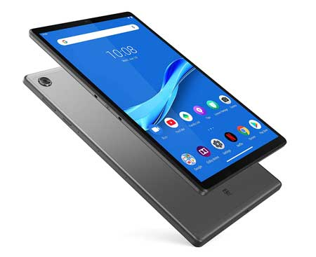 Lenovo-Tab-M10-Plus-Tablet,-10-inch-FHD-Android-Tablet,-Octa-Core-Processor,-128GB-Storage,-4GB-RAM,-Dual-Speakers,-Kid-Mode,-Face-Unlock,-Android-9-Pie