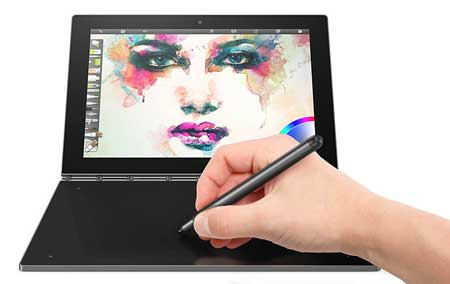 Lenovo-Yoga-Book---FHD-10-inch-Android-Tablet---2-in-1-Tablet-(Intel-Atom-x5-Z8550-Processor,-4GB-RAM,-64GB-SSD)