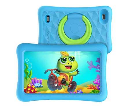 VANKYO-MatrixPad-Z1-Kids-Tablet-7-inch,-32GB-ROM,-Kidoz-Pre-Installed,-IPS-HD-Display,-WiFi-Android-Tablet,-Kid-Proof