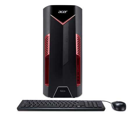 Acer-Nitro-50-N50-600-UR15-Desktop,-8th-Gen-Intel-Core-i5-8400,-AMD-Radeon-RX-580-Graphics,-8GB-DDR4-+-16GB-Optane-Memory,-1TB-HDD