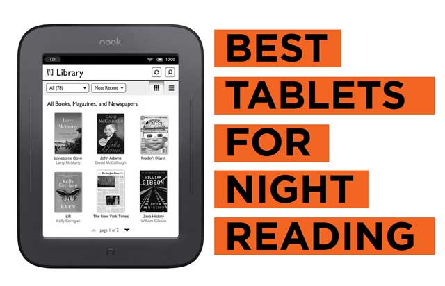 Best-Tablets-for-Night-Reading Recommendations