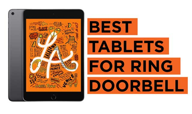 Best-Tablets-for-Ring-Doorbell Recommendations