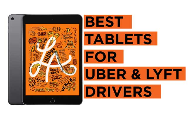 Best-Tablets-for-Uber-and-Lyft-Drivers-Ride-Hailing Recommendations
