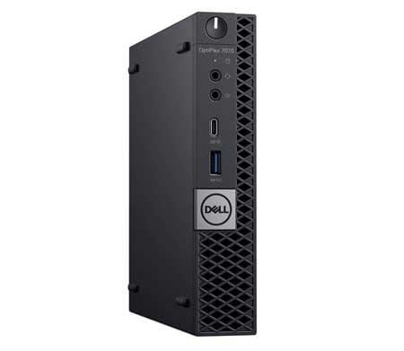Dell-OptiPlex-7070-Desktop-Computer---Intel-Core-i7-9700T---16GB-RAM---256GB-SSD---Micro-PC