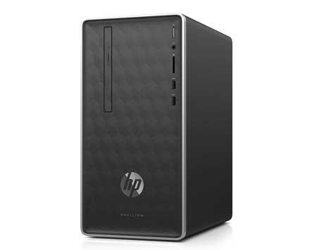 HP-Pavilion-Business-Desktop-PC-590-p0033w-Intel-Core-i3-8100,-4GB-DDR4-2400-SDRAM,-1TB-7200-RPM-HDD,-16GB